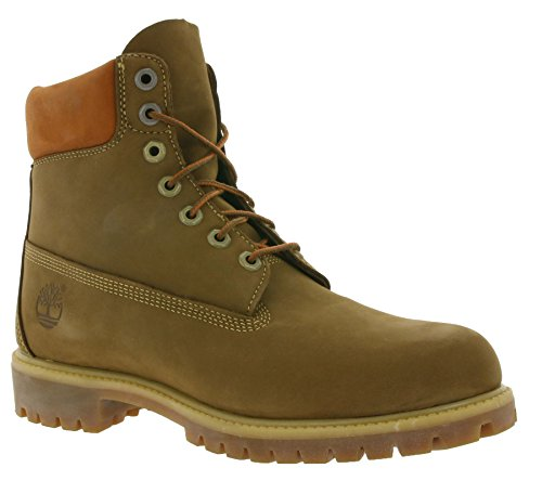 Timberland 6in Premium Boot Dark Rubber CA19SM, Stivali Marrone (Dark Chocolate Nubuck)