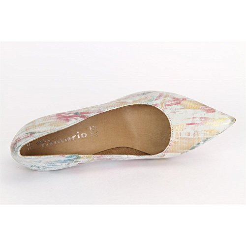 Multicolour 12241428990 12241428990 Tamaris Leder White Leder Multicolour Tamaris White Tamaris aHwqf8Y