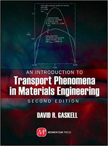 Amazon Com An Introduction To Transport Phenomena In Materials