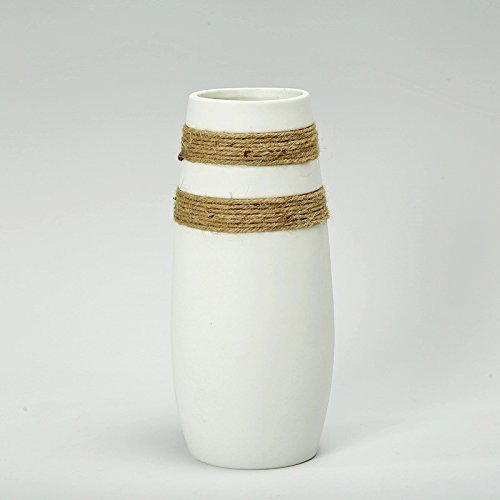Modern Ceramic Flower Vase White Fashion Porcelain Tabletop Europe Style Vase For Office Home Wedding Decoration Typa D