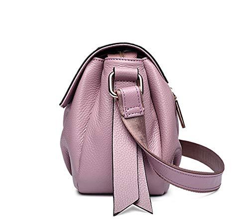 bolso bolso Hobo Shoulder simples de femenino bolso mujeres Bags Almacenamiento Bag del hombro Bolso del de Crossbody seoras las hombro de femenino simple Totes Crossbody de Crossbody de las Rosado del de F6CvvwqSx