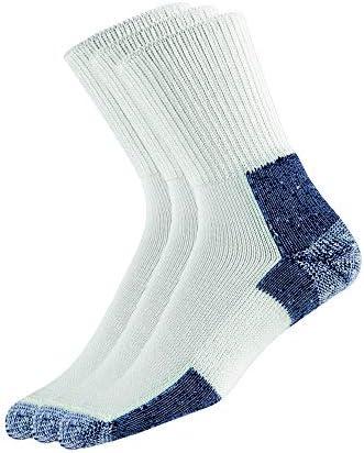 thorlos mens Xj Max Cushion Running Crew Socks