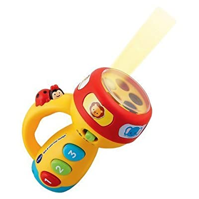 VTech New Spin and Learn Color Flashlight: Toys & Games