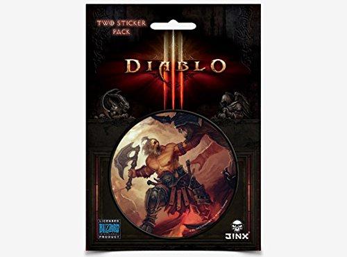 JINX Diablo III Barbarian Class Sticker, Multi-Colored, 3