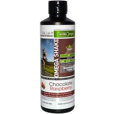 Omega 3-6-9 Chocolate Raspberry Shake 16 Ounces
