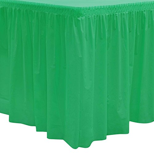 Party Essentials 2908 Plastic Table Skirt, 96