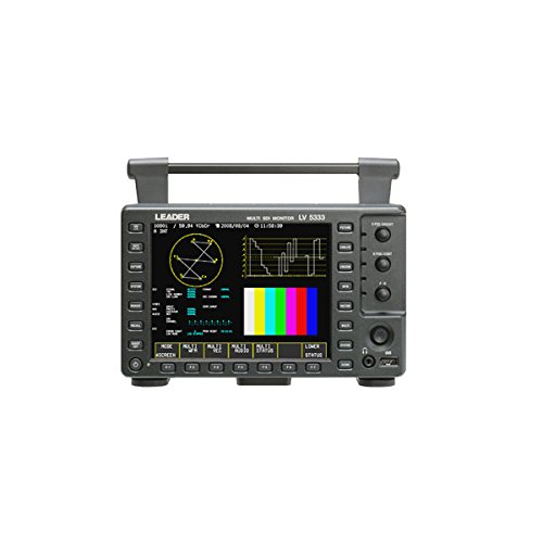 Leader LV-5333 3G-SDI Portable Waveform Monitor with Histogram & Embedded Audio