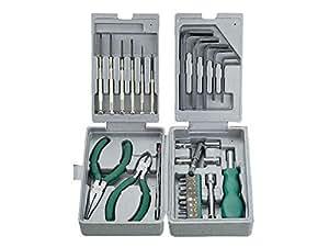 Cablexpert - Kit de herramientas montaje 31 pcs