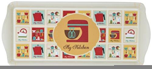 Home Essentials & Beyond 74922 Master My Kitchen Melamine Sandwich Tray
