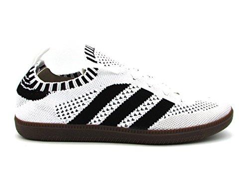 adidas Samba PK Sock Sneakers Bianco Nero CQ2217 (45-1-3 - Bianco)