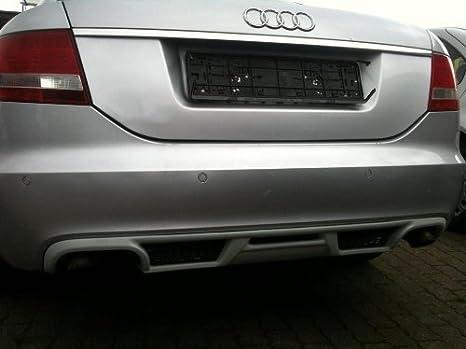 Audi A6 C6 Rs6 4f Saloon 2004 08 Rear Diffuser S Line Spoiler Rear Apron Auto