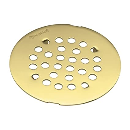 Awesome Moen 101663PMOENF Kingsley 4 1/4 Inch Snap In Shower Drain Cover