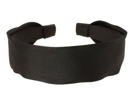 L. Erickson USA Grosgrain Ribbon Headband - Black ()