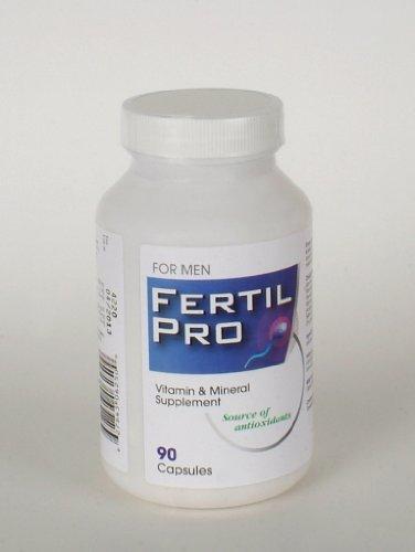 Fertil Pro - Homme - Supplément fertilité masculine - 3 Mois d'approvisionnement