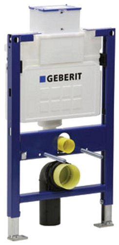 Geberit 111.255.00.1 Concealed Toilet Carrier Frame with UP200 Dual-Flush Tank