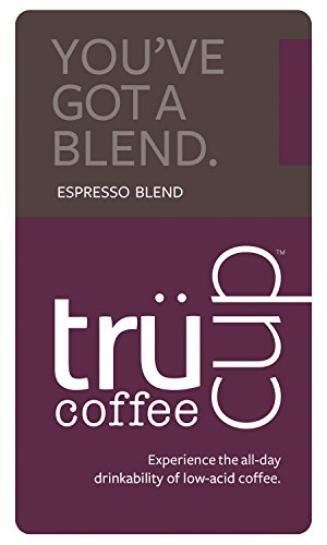 Trücup low-acid coffee - You've Got a Blend, Espresso Blend - Whole Bean, One Pound Bag