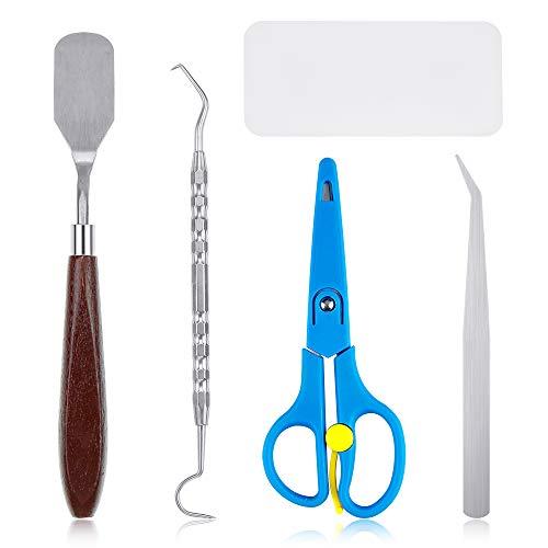 Caydo 5 Pieces Craft Vinyl Weeding Tools Craft Basic Set Craft Vinyl Tools for Weeding Vinyl