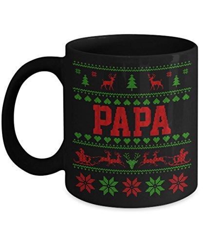 Christmas Came Early For Your Papa Mug - 11 Oz Ceramic Coffee Mug Tea Cup - Best Gift For Your Papa - Black Mug