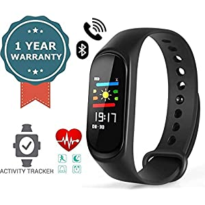 ssssss RAMBOT Unisex Smartband Bluetooth with Activity Tracker, Fitness Health, Waterproof Touchscreen Anti Gravity Smart Bracelet (ASSORTED COLORS)