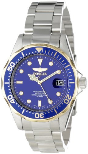 Invicta Men's 12809X Pro Diver Blue Dial Stainless Steel ()