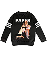 ZYALO Kids Outfit Children Nicki-Minaj-Fashionable-Music-Band- Fall Winter Clothes Long Sleeve