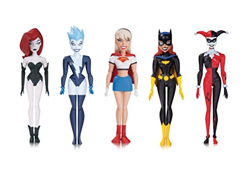Batman Animated Series: The New Batman Adventures: Girl's Night Out Action Figure 5-Pack