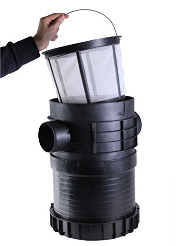 PLURAFIT Filter mit Filterkorb, Tankeinbau, Rohranschluss für Zulaufberuhigung