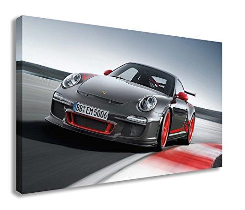 PORSCHE 911 GT3 SPORTS CAR CANVAS WALL ART (44  911 wall art   Porsche Wall Art Project (#12) 41oLJ1Gq19L