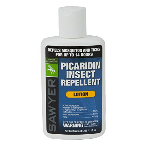 Sawyer Products SP564 Premium Insect Repellent with 20% Picaridin, Lotion, - Through Rub Black Finish