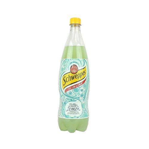 Quinine Bitter Lemon (Schweppes Slimline Bitter Lemon 1L)