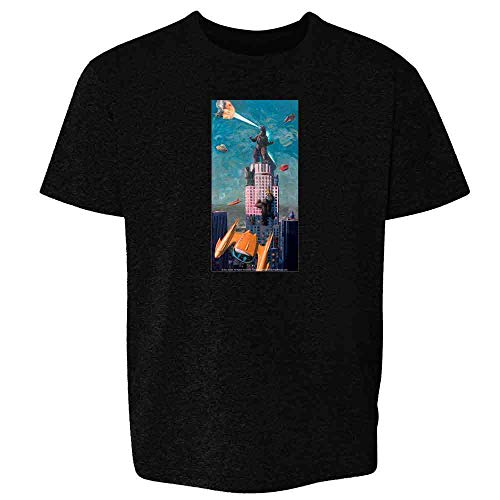 Just Another Day in LA by Eric Joyner Black XS Youth Kids T-Shirt