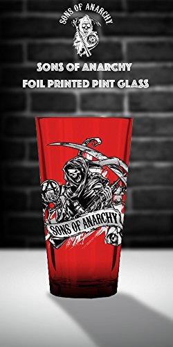 Just Funky Soa Gs4 1857 Jfc 01 Son Of Anarchy Clay Memorial Shot Glass