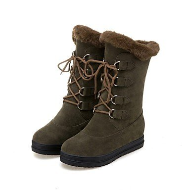 5 UK5 Ankle RTRY Winter Shoes CN38 Customized Boots Combat Strap Block Boots Fashion US7 Boots Boots Boots Heel EU38 Soles Snow Women'S Riding 5 Light Materials qxrgrwICSn