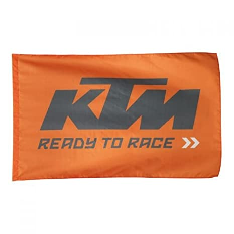 amazon com ktm flag ready to race 3pw1771500 automotive
