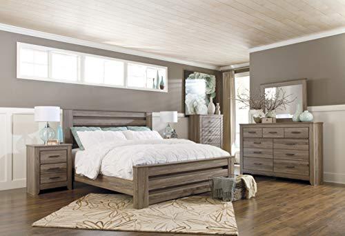 Bedroom Ashley Furniture Signature Design – Zelen Dresser – 7 Drawer – Warm Gray modern dressers