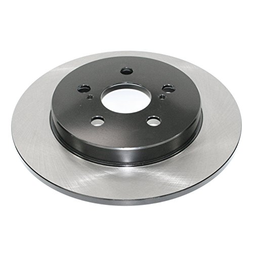- DuraGo BR900756-02 Solid Brake Rotor (Rear)