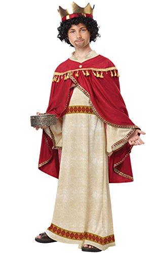 Nativity King Costume Childrens (California Costumes Melchior of Persia Child Costume,)