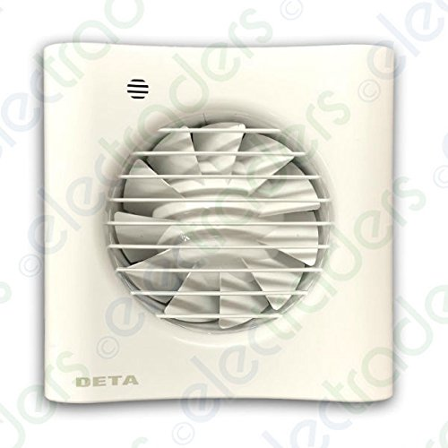 Deta 4603 Axial Extractor Fan 4 Inch/100mm (Humidistat/Timer Model)