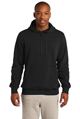 Direct Hooded Pullover - Sport-Tek Tall Pullover Hooded Sweatshirt. TST254 Black 3XLT