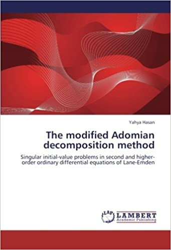 The modified Adomian decomposition method: Singular initial