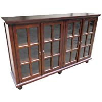 D-ART COLLECTION Mahogany Library Console