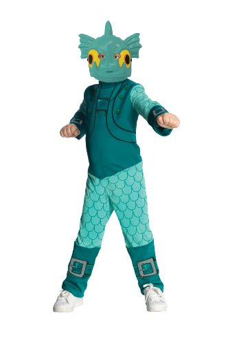 Skylanders: Spyro's Adventure Gill Grunt Costume - Large (Skylander Costumes For Boys)