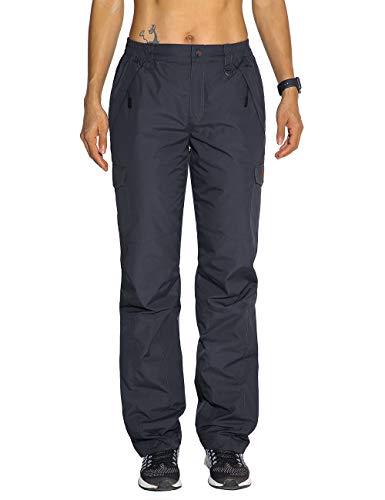 Nonwe Women's Ski Snowboard Pants Warmth Windproof Gray M/30