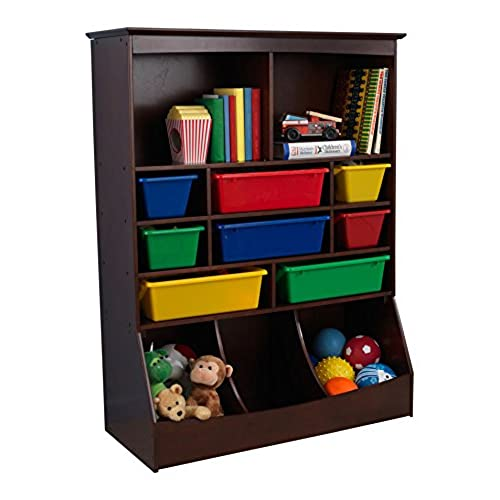 Exceptionnel KidKraft Wall Storage Unit   Espresso