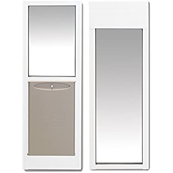 french door with dog door built in. PetSafe 2 Piece Sliding Glass Pet Door  Great for Apartments or Rentals 76 Amazon com Freedom Aluminum Patio Panel
