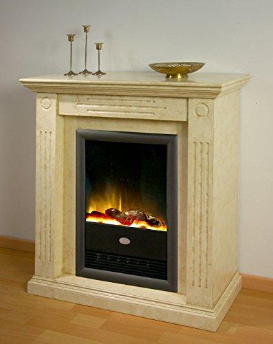 XANA-Möbel / Elektrokamin klassisch Standkamin marmoriert Kamin Wandkamin 2 KW