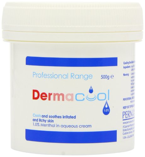 Dermacool 1% Menthol in Aqueous Cream 500g