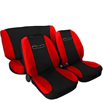 Lupex Shop Seat Covers Black Red