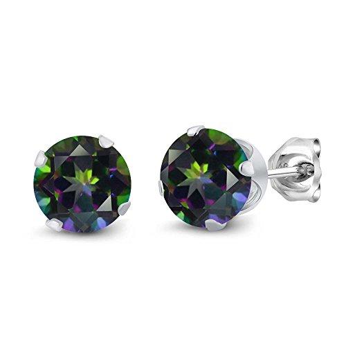 Green Topaz Earring - 1