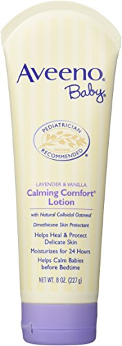 Aveeno Baby Calming Comfort Lotion, Lavender & Vanilla, 8 oz